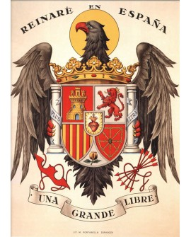 Aguila Imperial Escudo Estado Español 1936 Francisco Franco Home