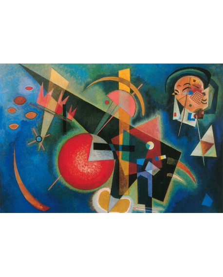 Vassily Kandinsky Blue Azul - Cuadro Abstracto. Reproducción Home