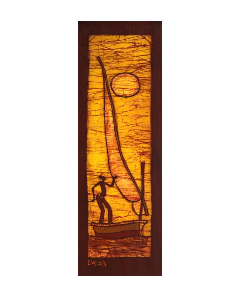 cuadro etnico friso africano tribal 2 vertical pintura giclee africa Home e506587c599
