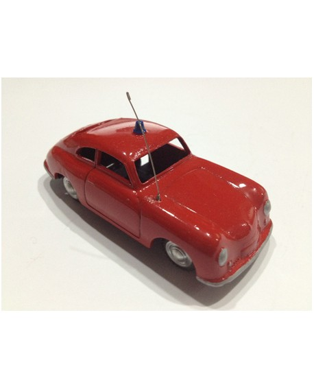 MARKLIN 1.43 Año 1950s W. Germany porsche bomberos Original mint Home