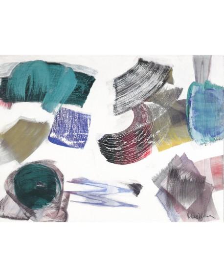 MUSTICA 1995 domingo 2 de abril - cuadro abstracto minimalista. Home