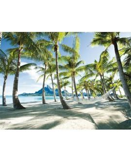 frank krahmer paisaje bora bora playa de tahiti cuadro mural