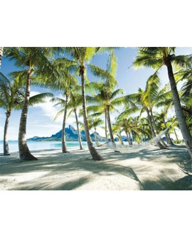 frank krahmer paisaje bora bora playa de tahiti cuadro mural Home