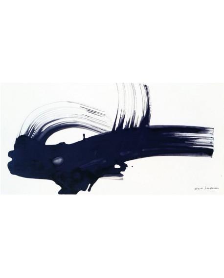 nino mustica cuadro grande abstracto blanco y negro 2 Cuadros Horizontales