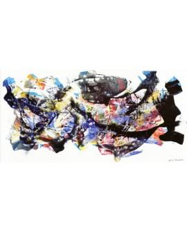 nino mustica cuadro mural grande abstracto 2012 Cuadros Horizontales