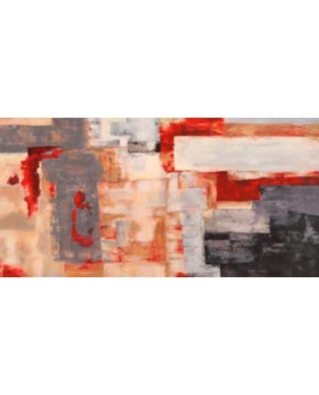 alessio aprile cuadro mural grande fuego bronce Cuadros Horizontales