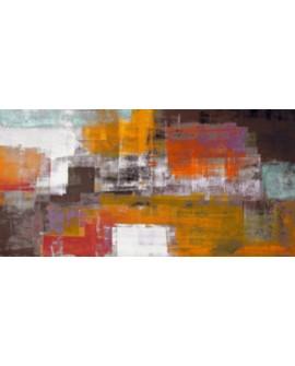 alessio aprile el desierto cuadro mural grande abstracto