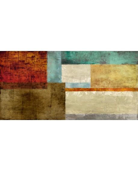 alphonse varon el bosque cuadro grande mural abstracto Cuadros Horizontales