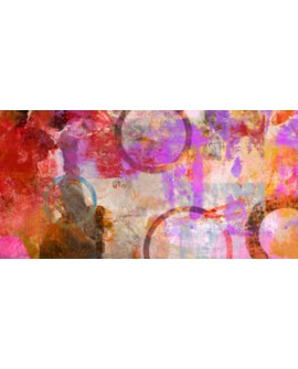 amber king cuadro mural abstracto circulos Cuadros Horizontales