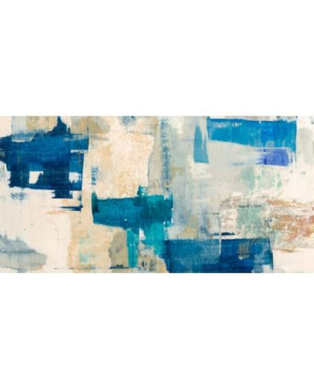 anne munson rapsodia en azul cuadro grande abstracto Cuadros Horizontales