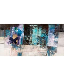 censini cielo del oceano cuadro mural grande abstracto Cuadros Horizontales