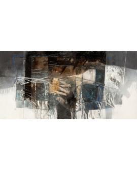 censini el valle de creta cuadro mural grande abstracto Cuadros Horizontales