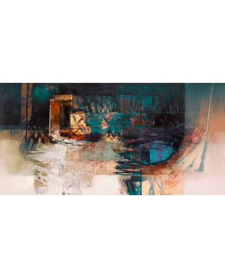 censini sueño tranquilo cuadro mural abstracto Cuadros Horizontales