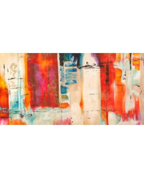 heather taylor cuadro mural abstracto bangalore Cuadros Horizontales