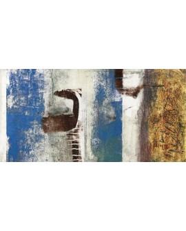 heather taylor sobre cielo cuadro mural abstracto Cuadros Horizontales