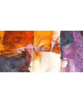 jean luc cuadro mural abstracto pensamiento de amor Cuadros Horizontales