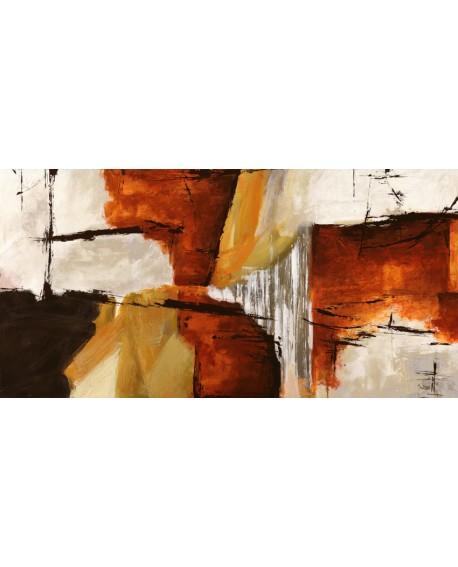 jim stone cuadro mural abstracto de madera y piedra Cuadros Horizontales