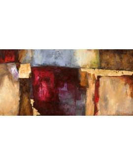 leonardo bacci cuadro mural abstracto rosa florentino Cuadros Horizontales