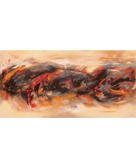 lucas cuadro mural grande abstracto atmosfera Cuadros Horizontales
