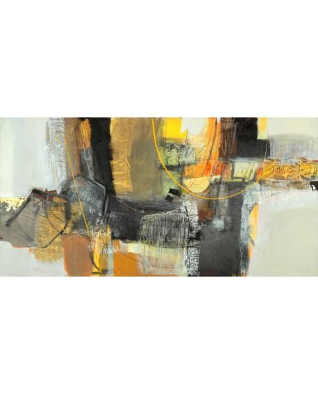 maurizio piovan cuadro mural abstracto la cosecha Cuadros Horizontales