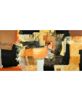maurizio piovan cuadro mural abstracto la segunda estacion