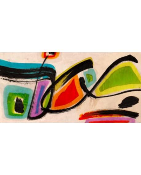 teo vals perelli cuadro mural abstracto mariposas Cuadros Horizontales