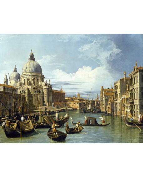 canaletto cuadro mural clasico paisaje canal de venezia Cuadros Horizontales