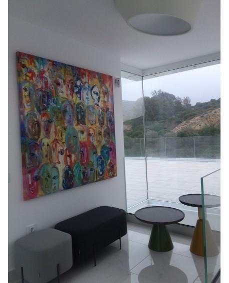 Cuadros de Tamaño grande Especiales en cualquier formato Pintura Giclee en relive Home