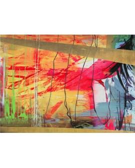 Italo Corrado Antiqua - cuadro abstracto moderno mural