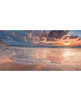 adriano galasso cuadro mural paisaje alba sobre el mar Cuadros Horizontales