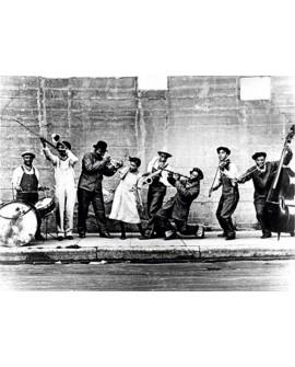 Fotografia clasica blanco y negro vintage jazz 1922 Home