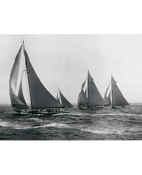 Fotografia clasica blanco y negro BARCOS DE CARRERAS 1915 Home