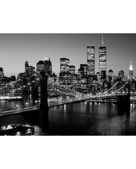 Fotografia clasica torres gemelas puente de brooklyn Home