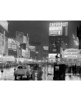 Fotografia clasica cuadro new york 1951 times square Home