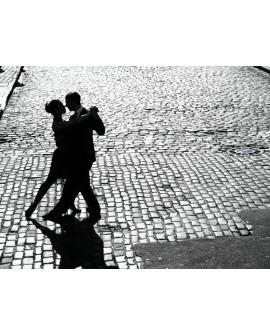 Fotografia clasica CUADRO vintage pareja baile tango
