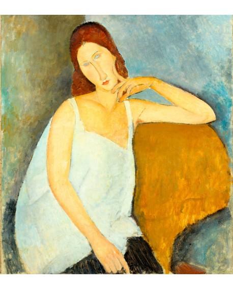 modigliani retrato mujer impresionista jeanne hebuterne Home