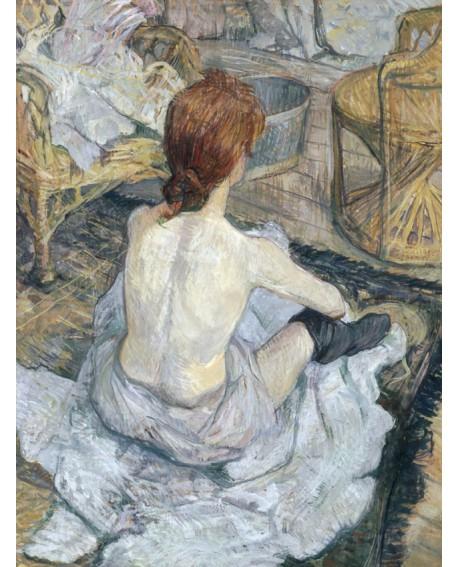toulouse lautrec cuadro impresionista desnudo rousse Home