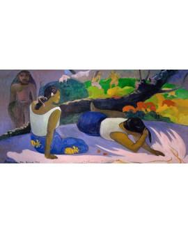 paul gauguin impresionismo etnico tahiti mujeres exoticas Cuadros Horizontales