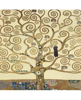 gustav klimt arbol de la vida cuadro paisaje impresionista Home