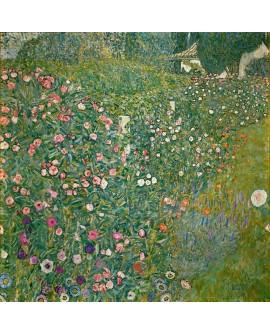 gustav klimt jardin italiano cuadro paisaje impresionista Home