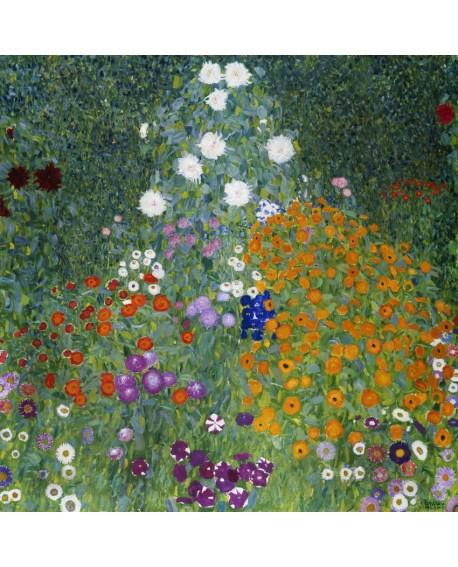 gustav klimt jardin granero cuadro paisaje impresionista Home