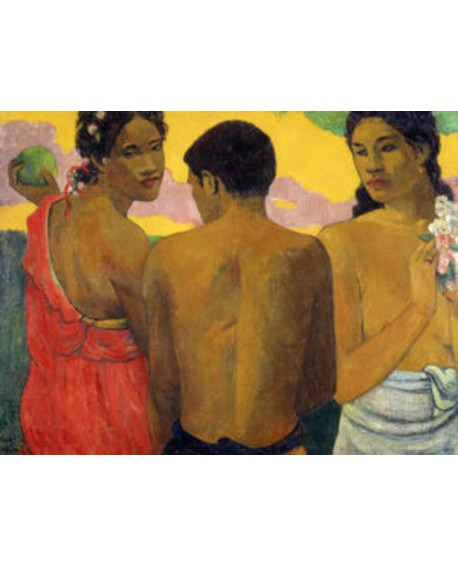 paul gauguin impresionista etnico 3 tahitianos Home