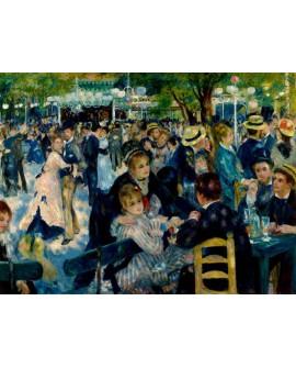 renoir cuadro impresionista baile en la fiesta le moulin Home