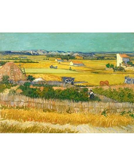 van gogh cuadro clasico impresionista campo de trigo Home
