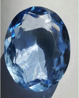 Topacio azul de 39.30 ct con certificado EGL 100% natural Home