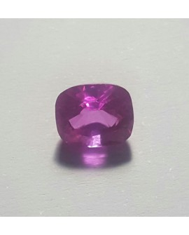 Zafiro Rosa intenso de 3.50 ct con certificado IGL 100% natural