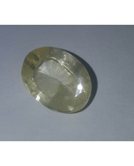 Zafiro amarillo de 8.75 ct con certificado IGL 100% natural Home
