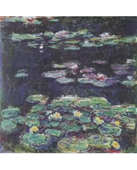 Claude Monet - Pintura Impresionista Nenufares del lago 2.