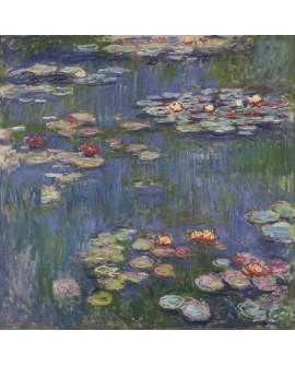 Claude Monet - Pintura Impresionista Nenufares del lago 1.