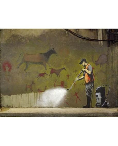 Banksy arte graffiti urbano el critico de arte londres Home